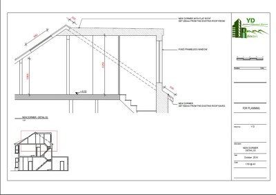 Provide UK Building Regulation Drawings for Loft Conversion