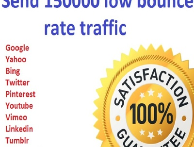 Send SOCIAL Traffic With Low Bounce Rate