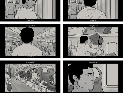 Create professional storyboard pages (Up to 10 frames)