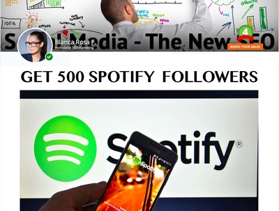 Give You 500 Spotify Followers