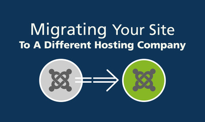 Transfer your Joomla website to new hosting