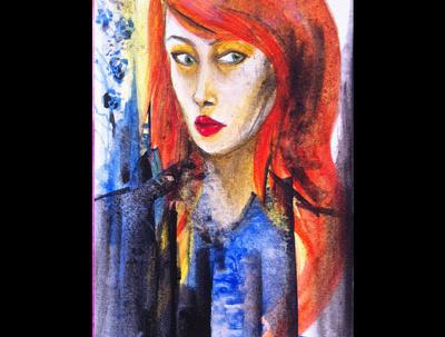 Paint your artistic portrait