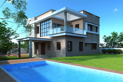 Design 3D Exterior, Residential, Commercial, Sports, Health Care etc