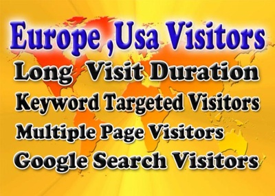 Deliver 1000 KEYWORD Targeted Organic Traffic Daily with Low Bounce Rate for 5 Days