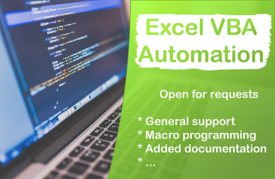 Develop Excel (VBA) macro for any automation purpose