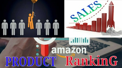 Increase Your Product Sell by Ranking Top On Amazon Within 5 Days
