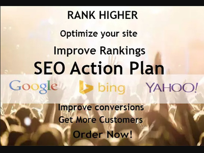 Create An SEO Action Plan with SEO Audit & Optimise it (Silver)