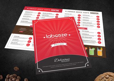 Design a very tasty menu design