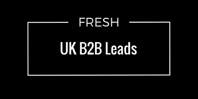 Provide 50 UK B2B Fresh Leads (and LOT More..)