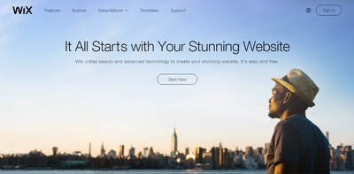 Design or create your Wix website