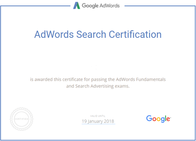 Review Your Google Adwords Account and Report On Potential Improvements