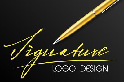 Design handwritten signature logo in 48 hours
