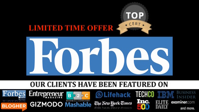 Publish Guest Post Interview on Forbes Forbes.com - High Domain Authority