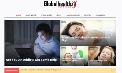 Guest posting on DA-31 health blog Sponsored Blog Review (dofollow)