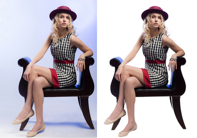 Remove 4 backgrounds from photos  professionally