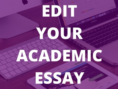 Proofread your academic essay (up to 2,500 words)