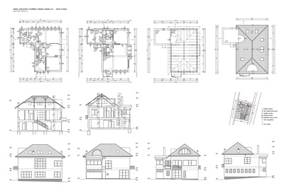 Make full detailed 2D AutoCAD drawing