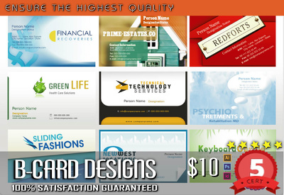 Design Stylish and Nice Business card / UNLIMITED REVISION / 24 Hrs Delivery