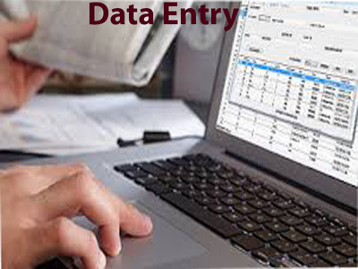 Do Any Type of Data Entry,Web Research for 1 hours