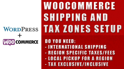 Create 20 shipping and/or tax zones for your WooCommerce store