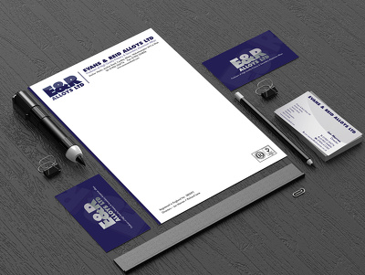 Design a high quality bespoke stationery set for your business/company