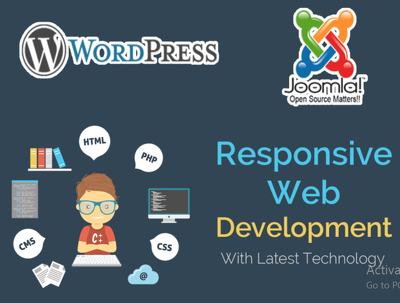 Make Responsive Wordpress and Joomla Sites with Webhosting
