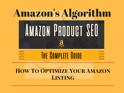 Full PDF guide how Amazon algorithm work and how to get top rank and higher sales