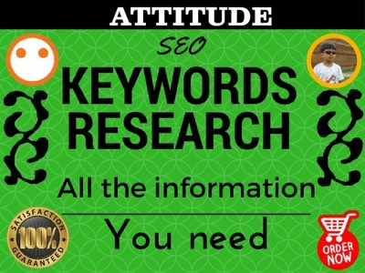 Operate thorough SEO Keyword Research investigation