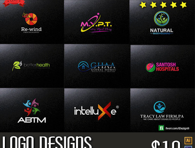 Design Creative And Proffesional Logo Within 24 Hours