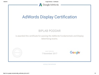 Set up and Optimize Google AdWord Campaign(Search, Display, Shopping, Remarketing)