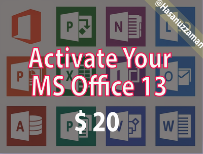 Activate Your Microsoft Office 13 for Lifetime