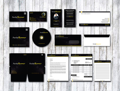 Design full stationary/ corporate branding identity for your company