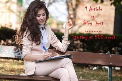 Write a 500 Word Article or Blog Post (Expert in English language!)