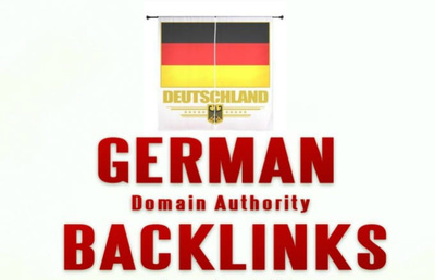 Create 30 high authority German backlinks - Best Germany Local SEO solucion