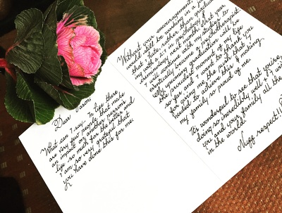 Provide a professional Calligraphy & Poet service for your wedding or event