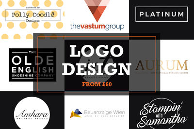 Design you an original logo with unlimited revisions