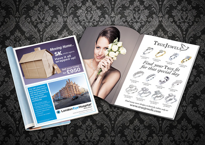 Design a premium advertisement / magazine advert or newspaper ad