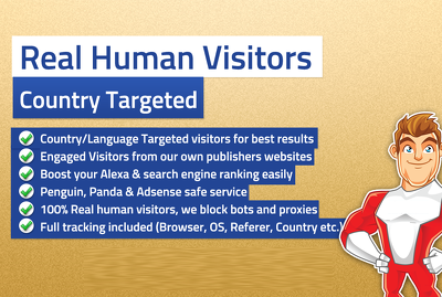 Give you Website Visitors You Want: Fast and Targeted