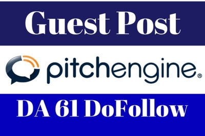 Publish Guest/Blog Post on Pitchengine - Pitchengine.com DA 64