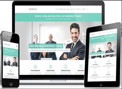 Build responsive eye catching WordPress website