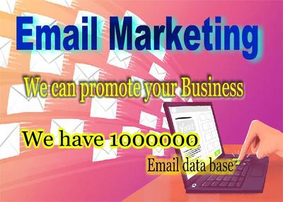 Do Email Marketing world wide  25k emails