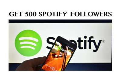 Get You 500 Spotify Followers