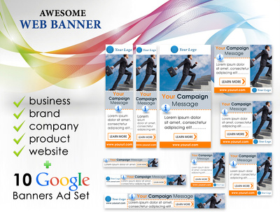 Create an awesome web banner
