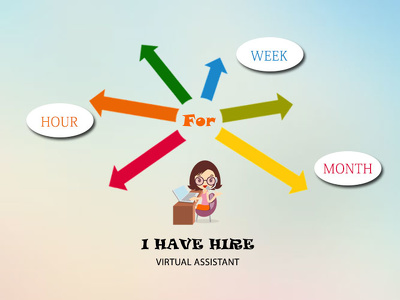 Be Your Virtual Assistant or Administrator / Manager for an Hour