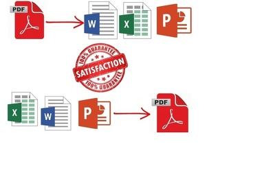Convert your pdf file to any formate