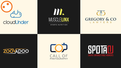 Design 3 concept various type of professional business LOGO for you