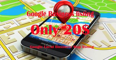 Google local Business listing/google map listing