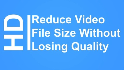 Reduce video weight 5 times less then its original size without lossing quality