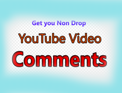 Get You 10 YouTube Custom Comments & 10 likes on your video
