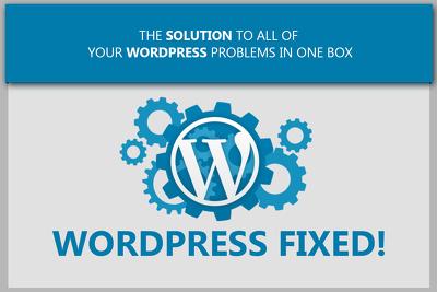Fix WordPRess, HTML, CSS bug